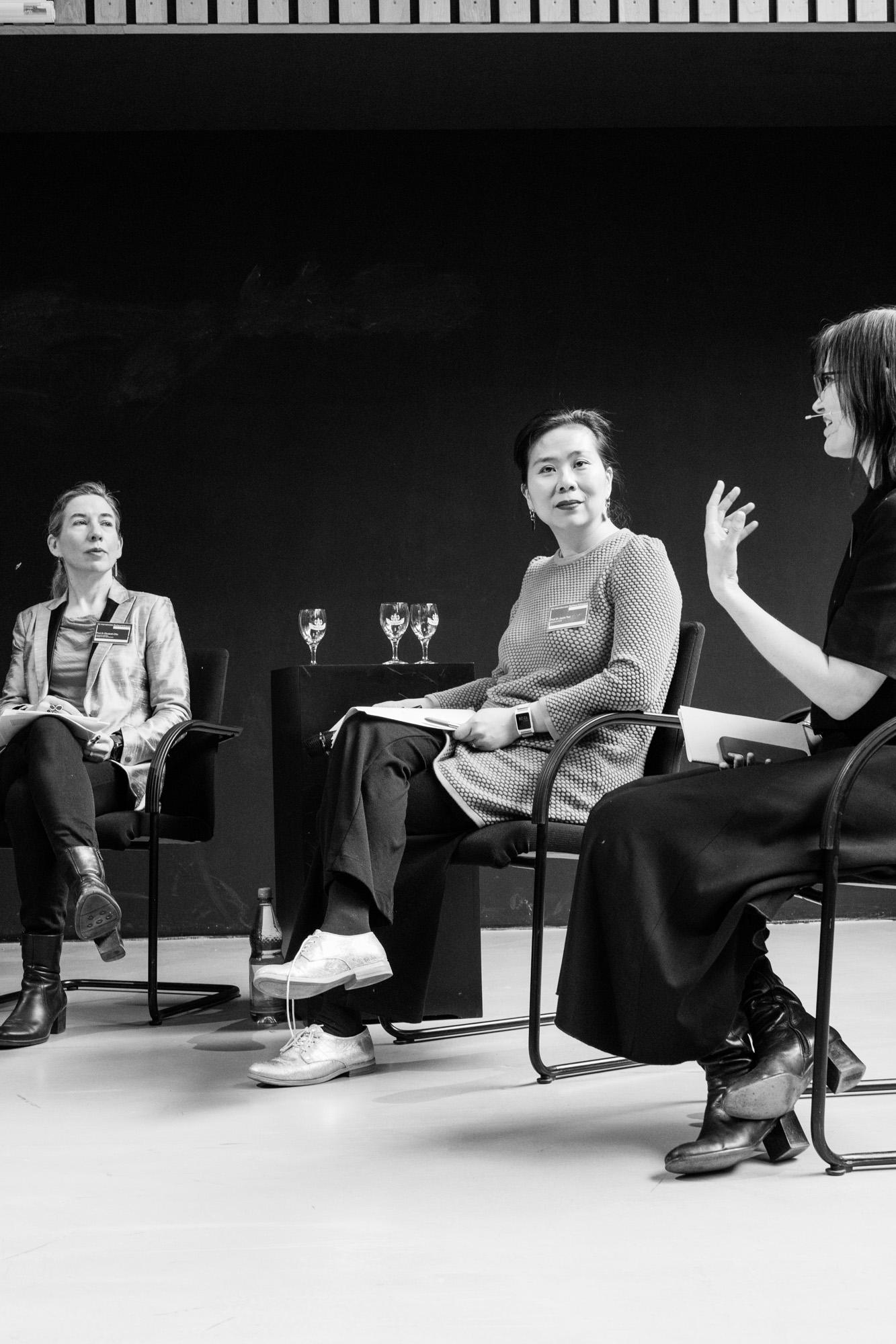 Diskussion Sektion 1. Fotografen: Samuel Solazzo, Jannis Uffrecht, Philipp Niemeyer